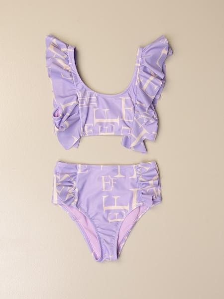 Elisabetta Franchi bikini bathingsuit logo print