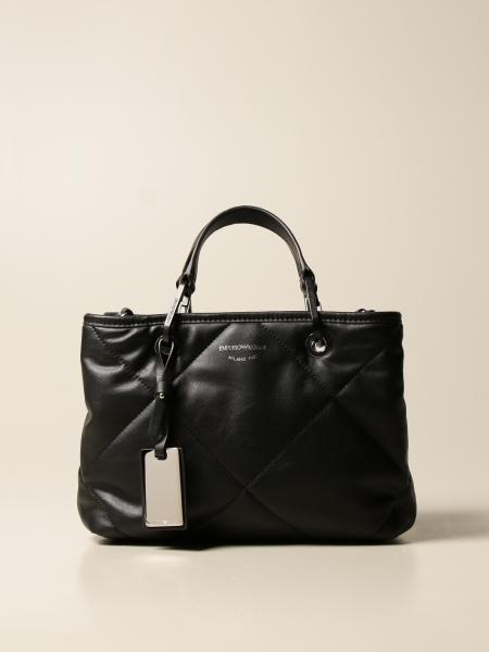 Emporio Armani shopping bag in synthetic nappa