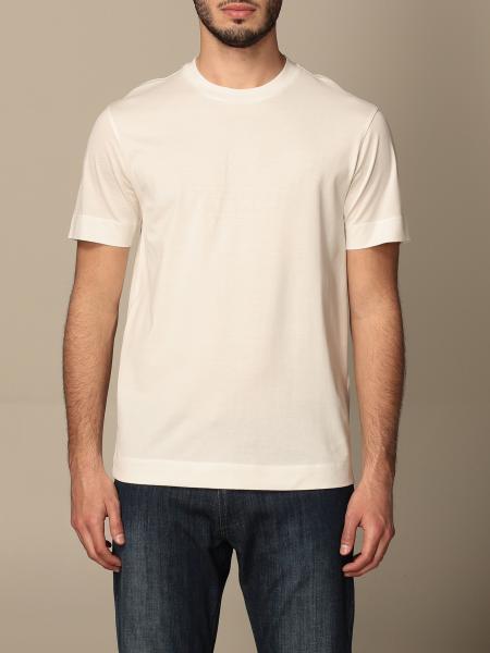 Emporio Armani: T-shirt Emporio Armani in cotone con logo