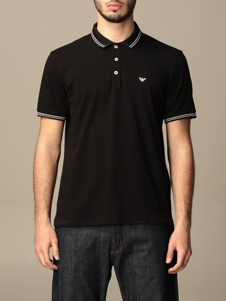 Emporio Armani polo shirt in pique cotton