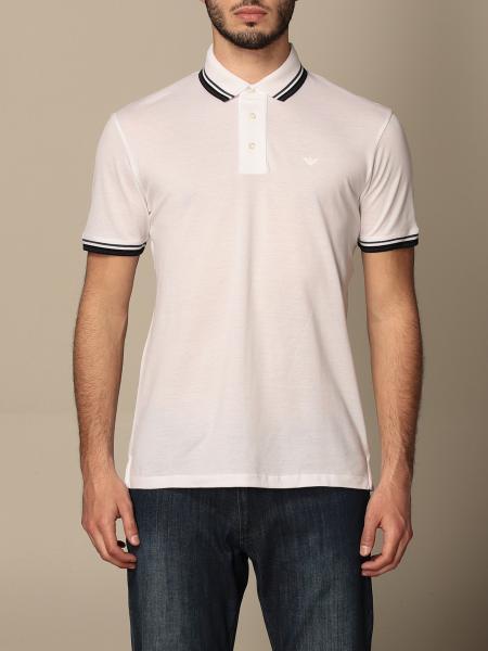 Emporio Armani polo shirt in cotton with logo