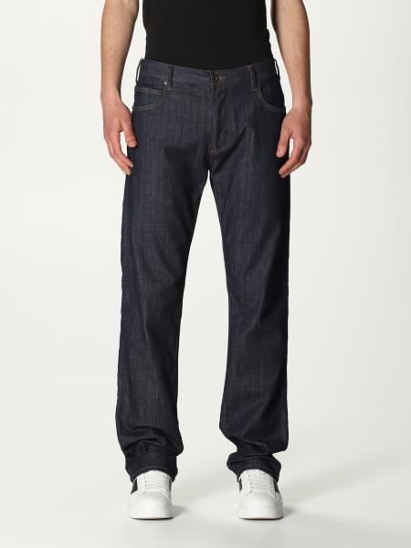 Emporio Armani: Emporio Armani jeans in stretch denim