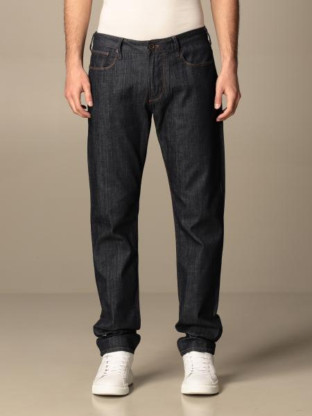 Jeans Emporio Armani in denim stretch