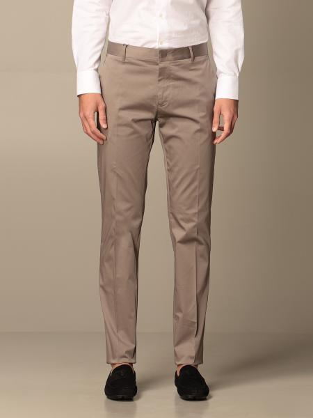 Pantalone Chino Emporio Armani in gabardine di cotone