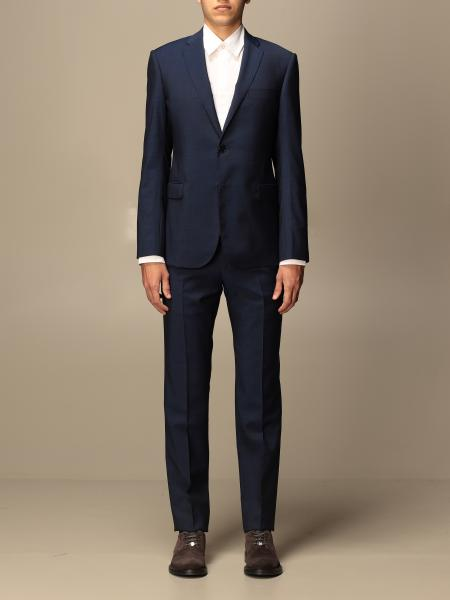 Emporio Armani single-breasted suit in wool 213 gr drop 8
