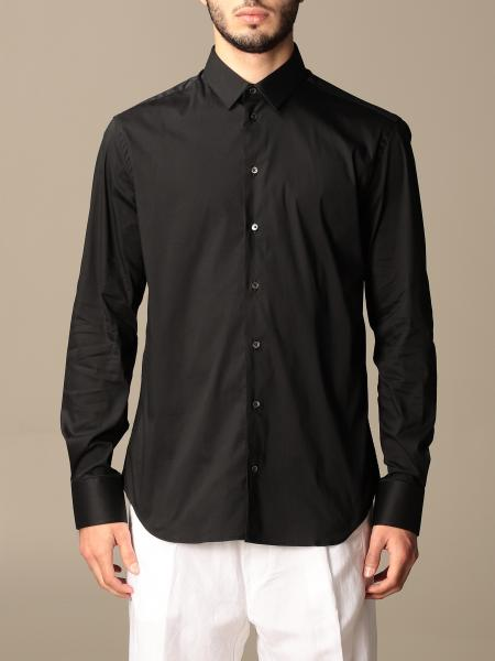Emporio Armani: Camicia Emporio Armani in cotone stretch