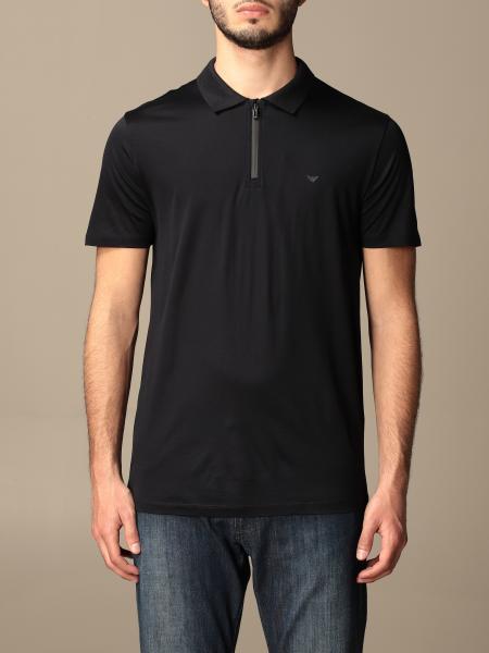 Emporio Armani: Polo Emporio Armani in jersey di cotone