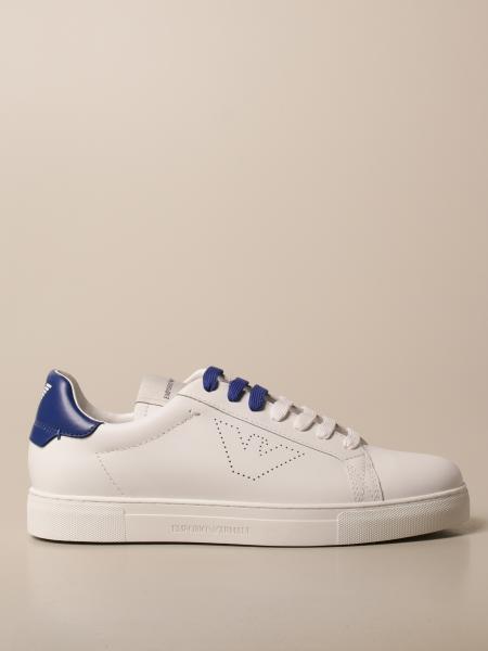Emporio Armani sneakers in leather
