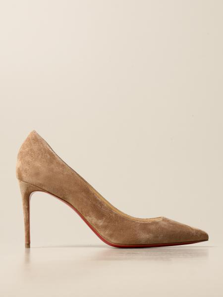 Christian Louboutin women: Christian Louboutin Kate pumps in suede