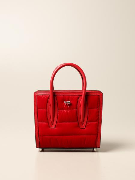 Christian Louboutin women: Paloma Christian Louboutin bag in leather and nylon