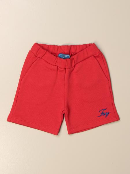Fay jogging bermuda shorts with logo