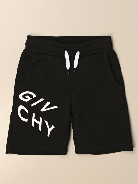 Bermuda jogging Givenchy in cotone con logo