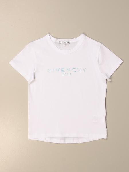 Givenchy: T-shirt basic Givenchy in cotone con logo