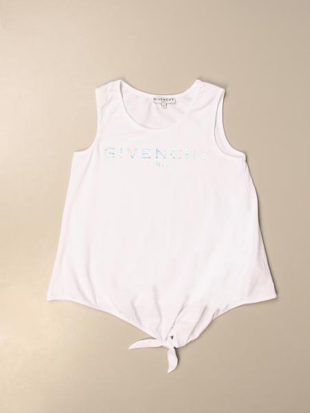 Top Givenchy in cotone con logo