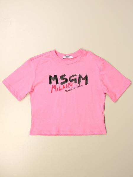 T-shirt enfant Msgm Kids