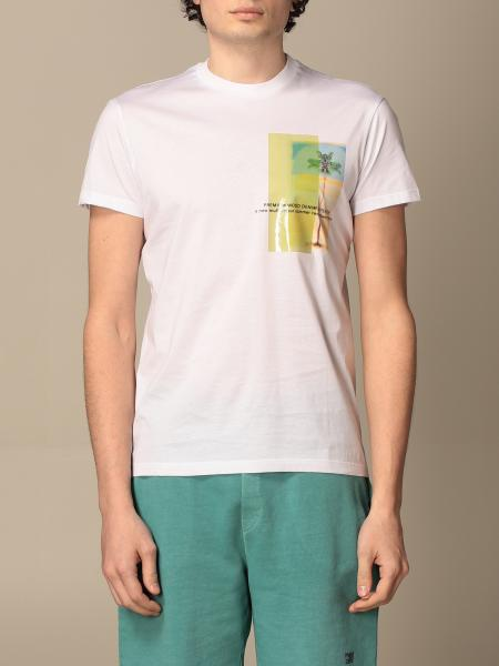 Pmds: T-shirt PMDS in cotone con stampa
