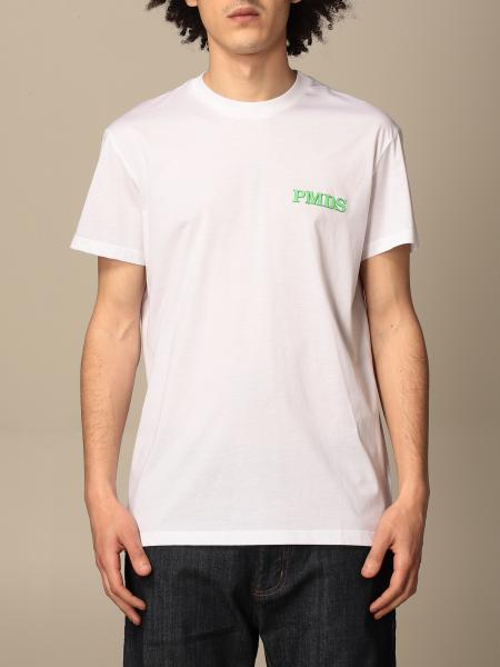 Pmds: T-shirt PMDS in cotone con stampa logo
