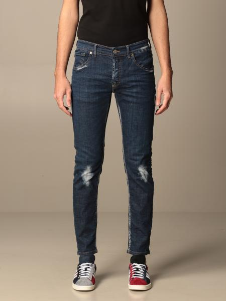 Pmds: Jeans Paul PMDS in denim con rotture