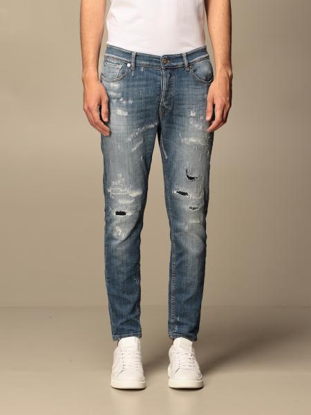 Pmds: Jeans Gerard Pmds in denim con rotture