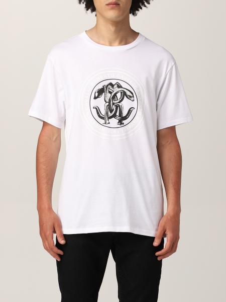 T-shirt Roberto Cavalli con logo