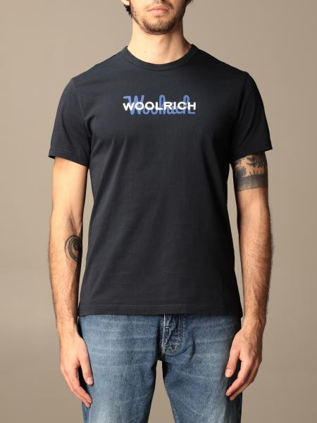 Woolrich cotton t-shirt with logo