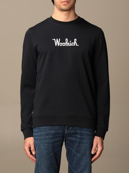 Woolrich crewneck sweatshirt with logo