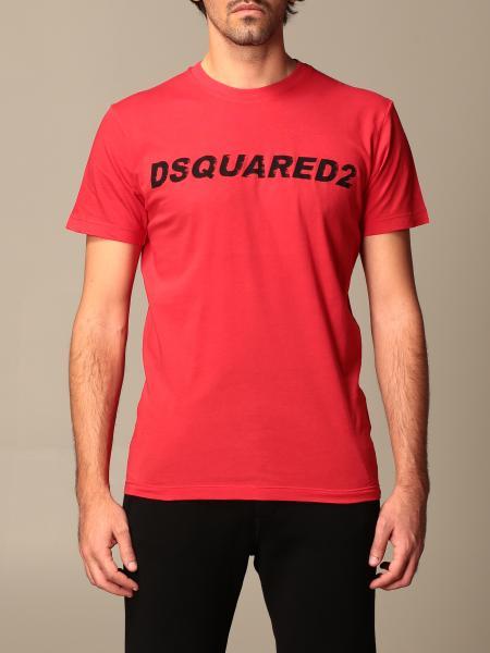 Dsquared2: Футболка Мужское Dsquared2