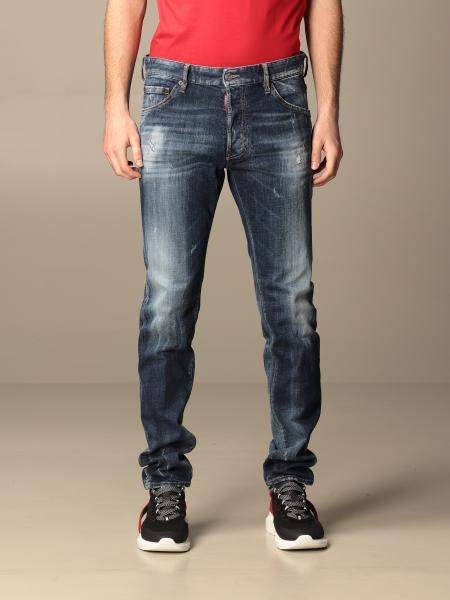 Jeans Cool guy Dsquared2 a 5 tasche in denim used