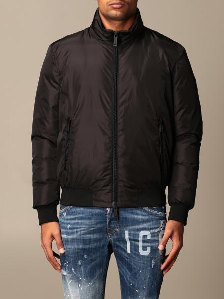 Icon Dsquared2 nylon bomber jacket with logo
