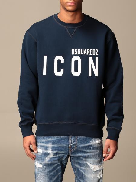 Dsquared2 cotton sweatshirt with Icon logo