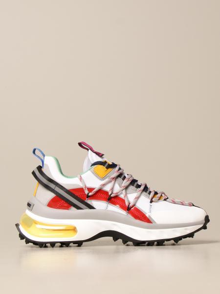 Dsquared2 uomo: Sneakers Bubble Dsquared2 in multi materiale