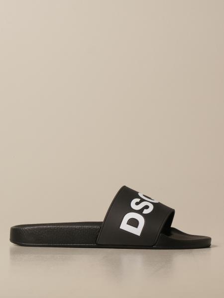 Sandalo Dsquared2 in gomma con stampa