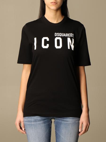 Dsquared2 cotton T-shirt with Icon logo