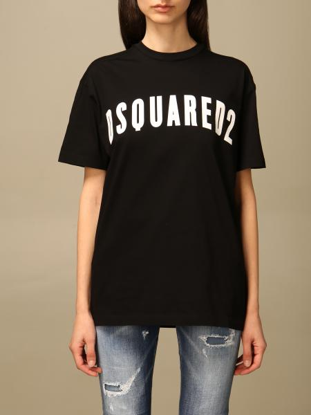 T-shirt damen Dsquared2