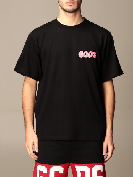 T-shirt Gcds in cotone con stampa posteriore