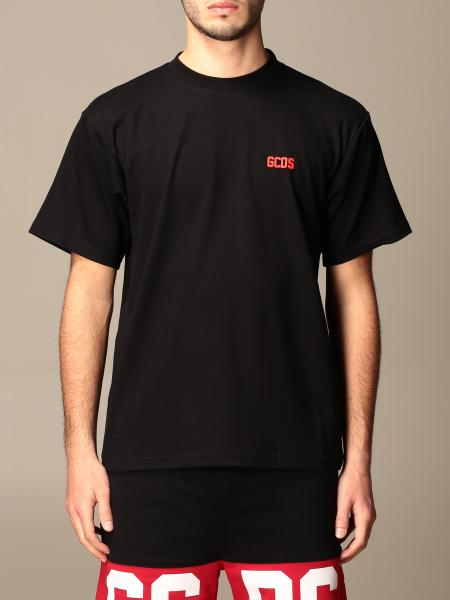 Gcds cotton t-shirt with logo