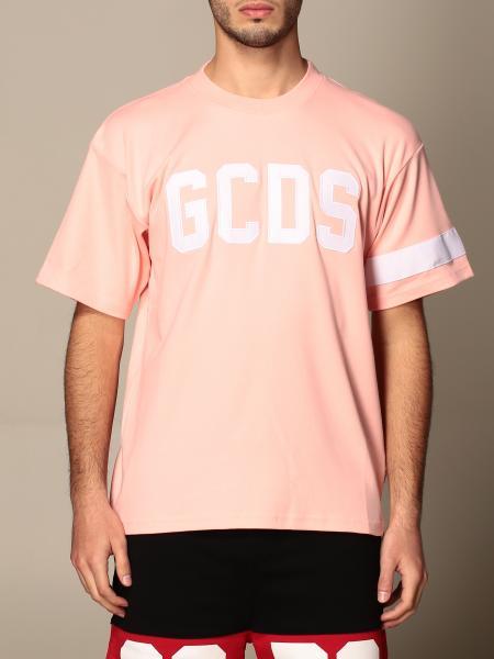 Gcds men: Gcds cotton t-shirt with big logo