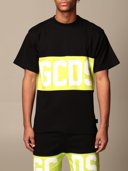 Gcds cotton T-shirt with band and logo