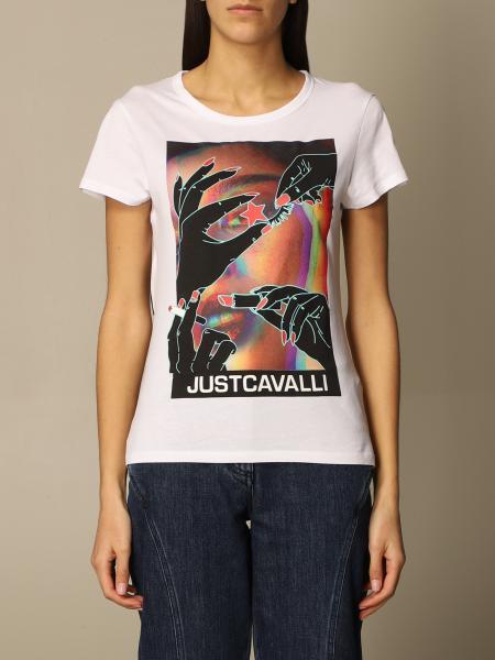 Just Cavalli: Футболка Женское Just Cavalli