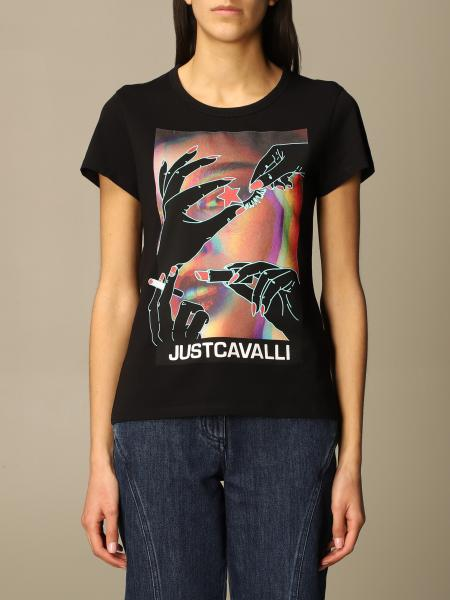 Just Cavalli: T-shirt femme Just Cavalli