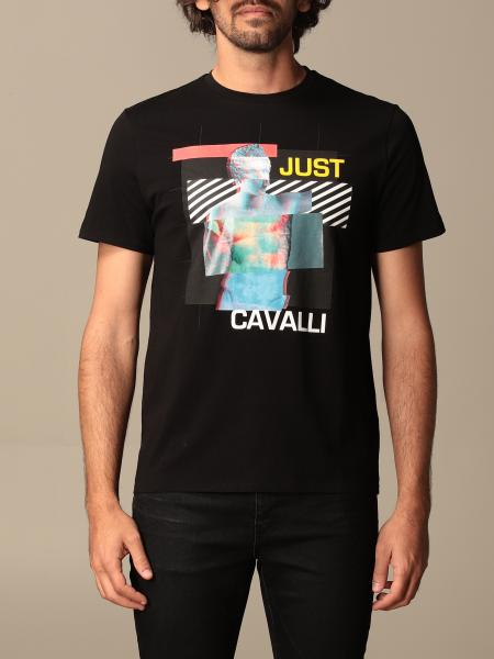 Just Cavalli t-shirt with tiger print