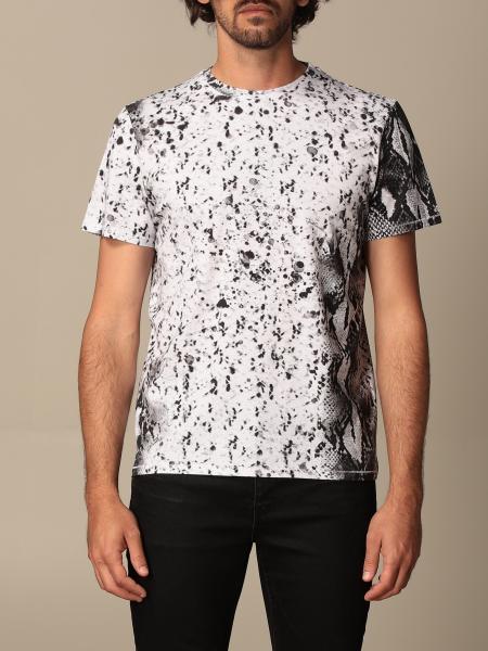 T-shirt Just Cavalli con stampa