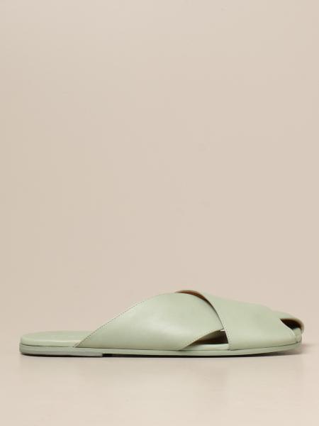Marsèll: Sandalo Spatola Scalzato Marsèll in pelle