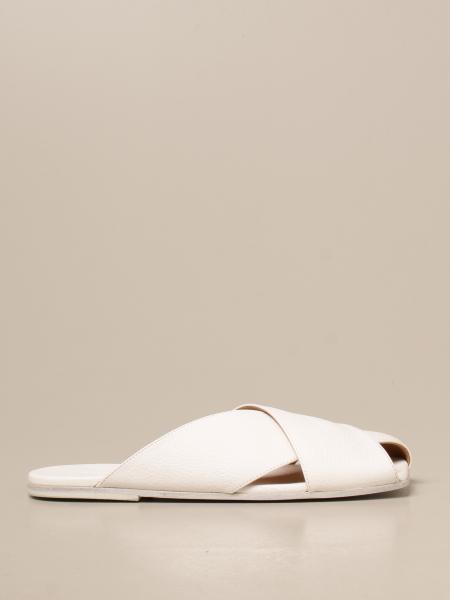 Marsèll: Sandalo Spatola Scalzato Marsèll in pelle volonata