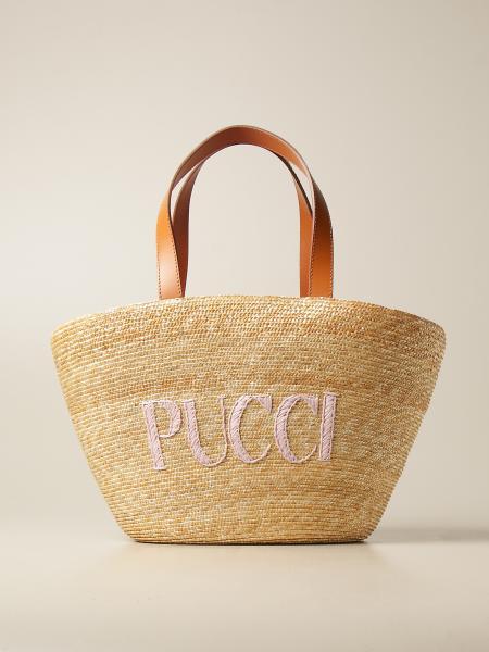 Emilio Pucci: Bolso de hombro mujer Emilio Pucci