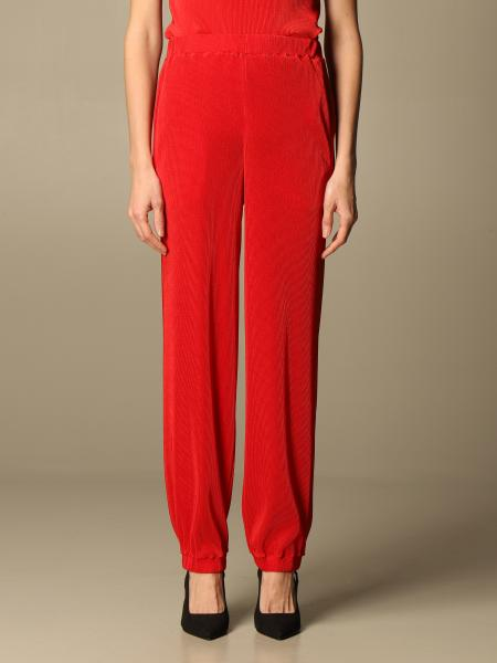 Giorgio Armani: Giorgio Armani ribbed stretch trousers