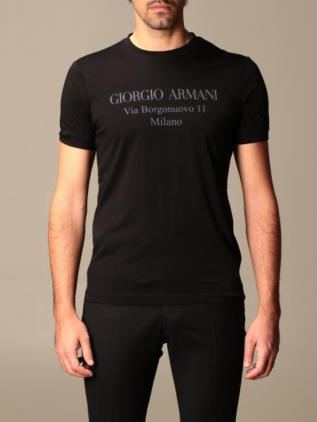 Giorgio Armani: Giorgio Armani cotton t-shirt with logo