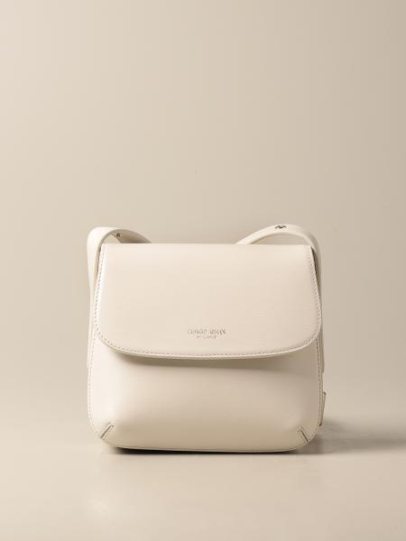 Giorgio Armani women: La Prima Giorgio Armani bag in textured leather