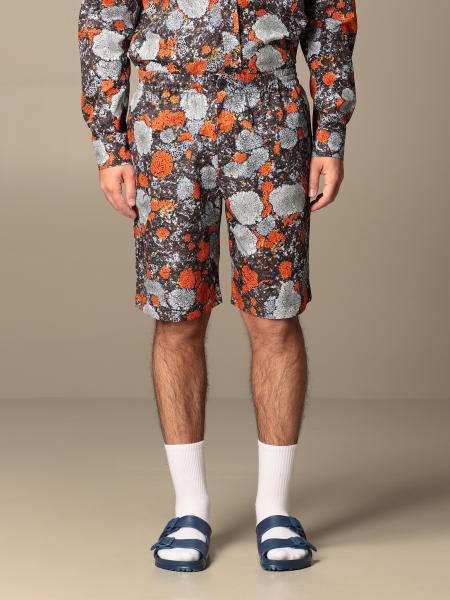 Albion MCQ Bermuda shorts in printed cotton blend
