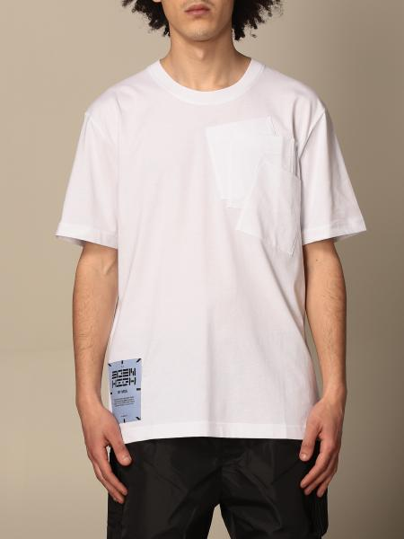 Mcq: T-shirt Eden High by McQ in cotone con logo e stampa